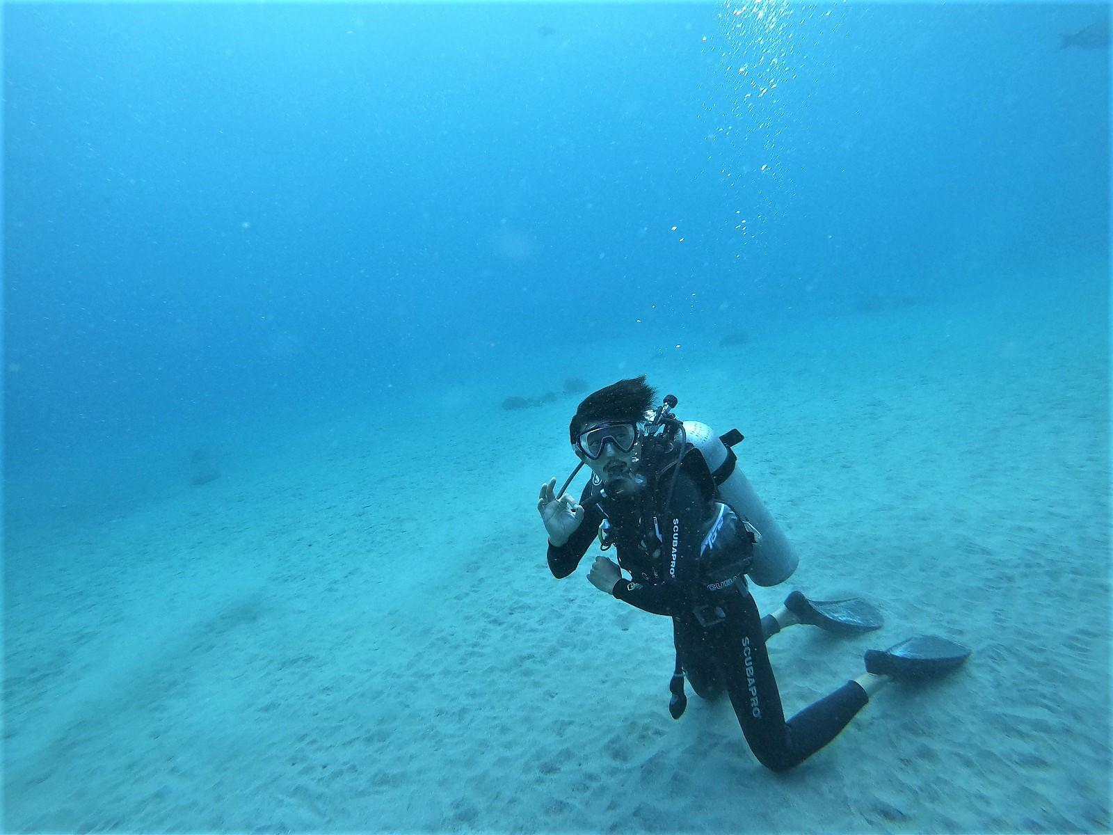 バリ島体験ダイビング