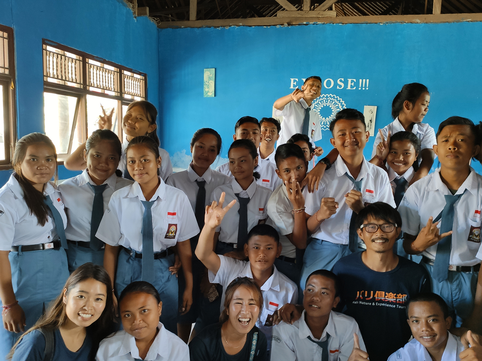 teachin-lembongan-highschool