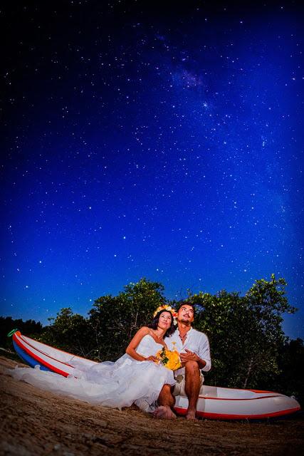 レンボンガン島の夜空