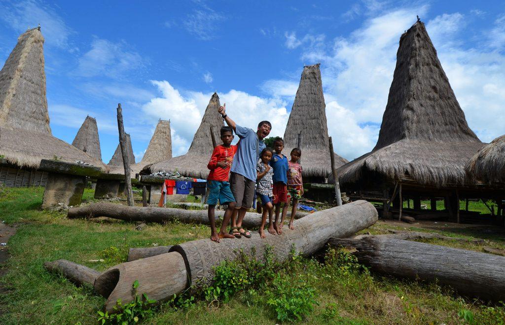 インドネシアのスンバ島