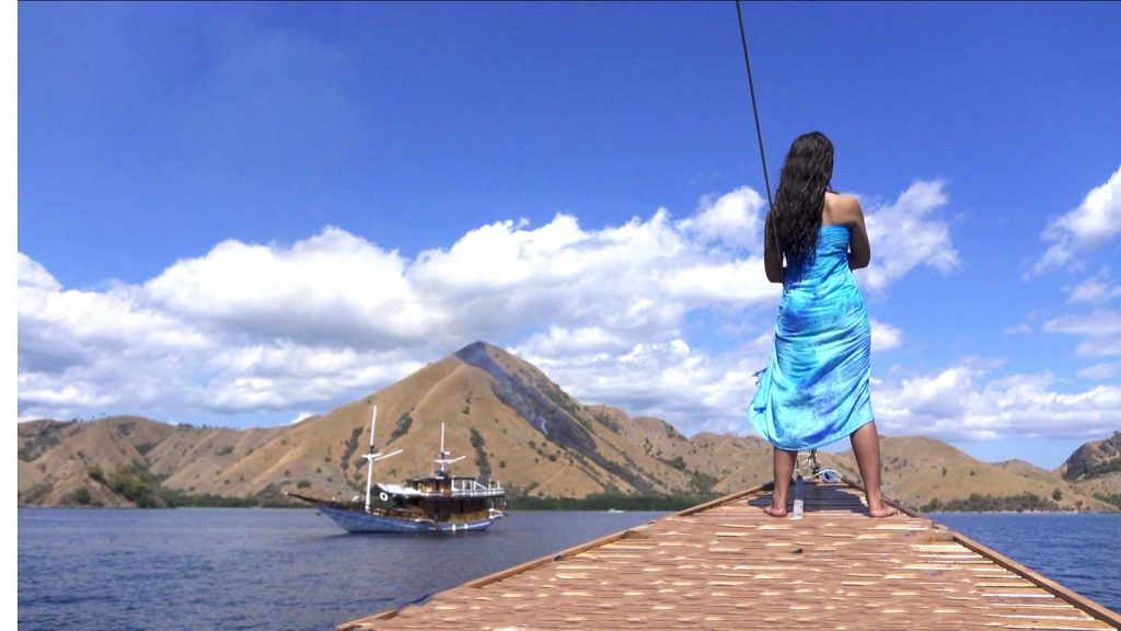 コモドドラゴンで有名なコモド諸島を船で巡る