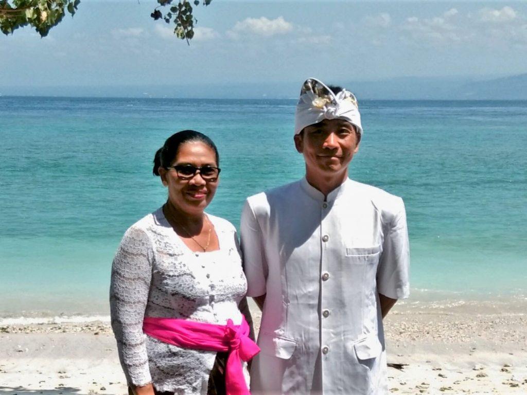 インドネシアのペニダ島
