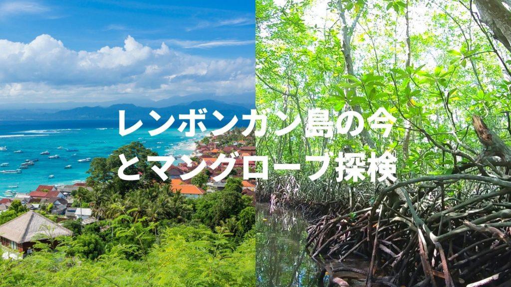 レンボンガン島とマングローブの森