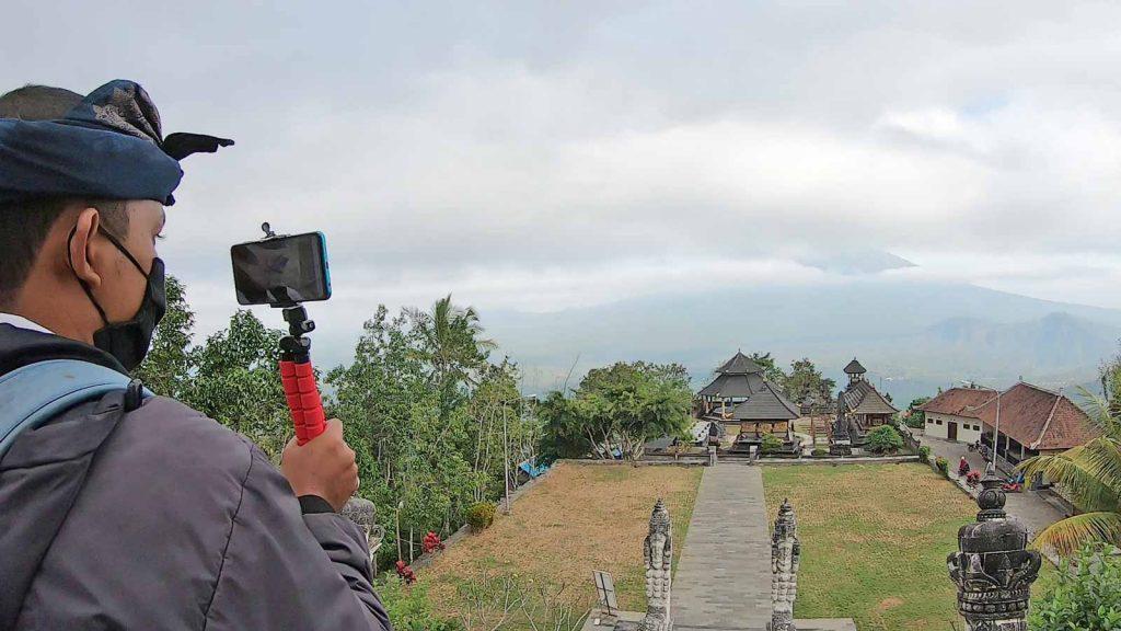 秘境ランプヤン寺院でオンラインツアー