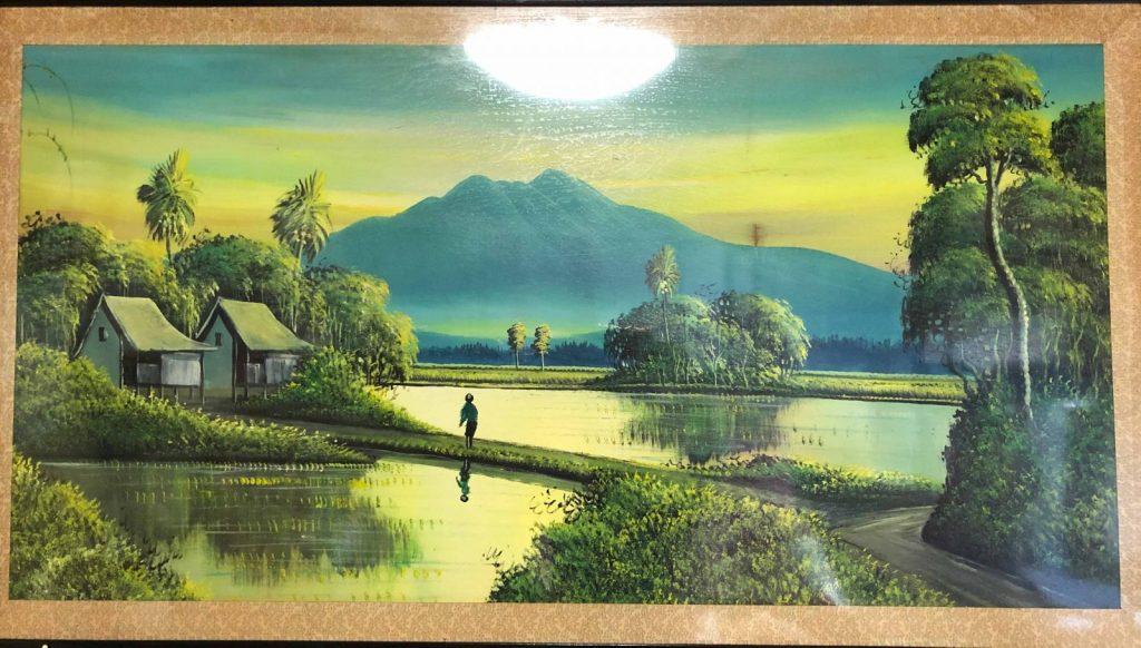 バリ島の絵画