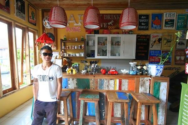 バリ島、ブドゥグル市場のおすすめカフェ