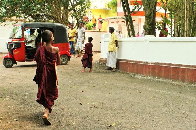 バリ島からスリランカへ家族旅行