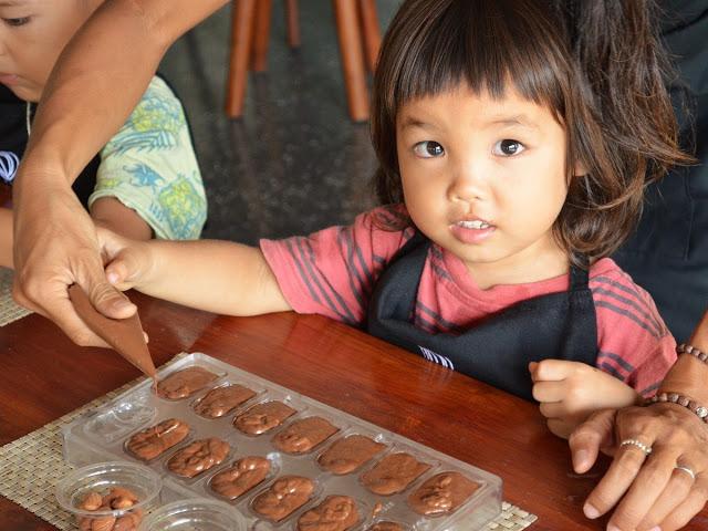 バリ島エレファントライド、podチョコレート