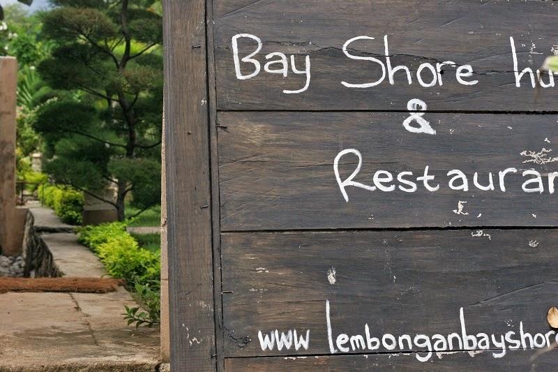 レンボンガン島の人気ホテル・Bay Shore Huts(ベイ シュア ハッツ)