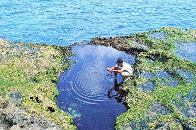 世界さまぁ~ずリゾートのレンボンガン島撮影場所
